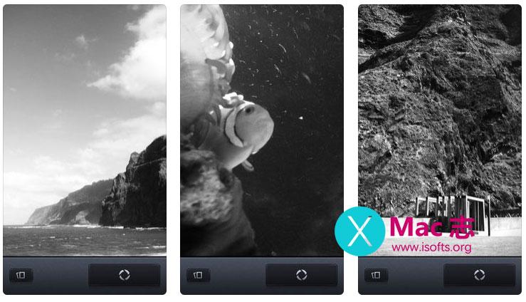 [iPhone/iPad]黑白相机工具 :Vint B&W MII