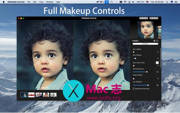[Mac]人像照片润色处理工具 : WidsMob Portrait