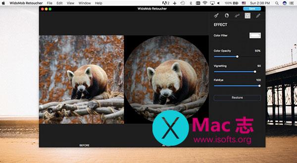 [Mac]照片编辑及特效处理工具 : WidsMob Retoucher