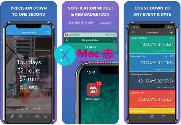 [iPhone/iPad]倒计时工具 : Countdown to Big Events