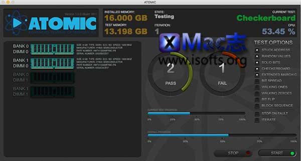 [Mac]内存测试软件 : Micromat ATOMIC