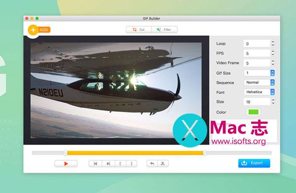 [Mac] Gif动画制作软件 : iGIF Builder
