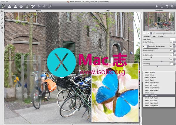 [Mac]粉彩蜡笔图像特效 :AKVIS Pastel