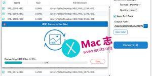 [Mac] HEIC转JPG/JPEG/PNGd的图片格式转换工具 : Aiseesoft HEIC Converter