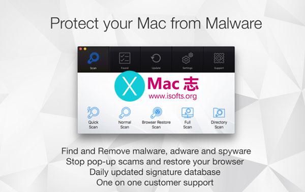 [Mac]恶意软件病毒查杀工具 :Antivirus Zap
