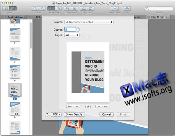 [Mac]文档阅读工具 : Cisdem DocumentReader