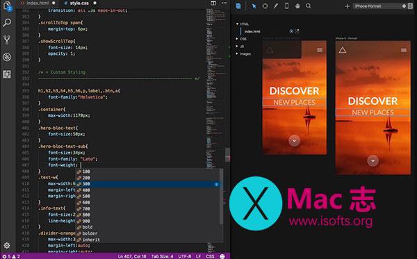 [Mac]支持实时预览的代码编辑器 :Solis