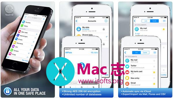 [iPhone/iPad]密码管理应用:AllPass Pro