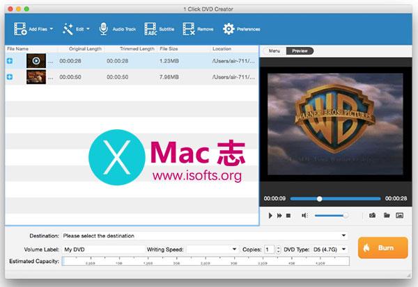 [Mac] DVD光盘制作工具 : Tipard DVD Creator