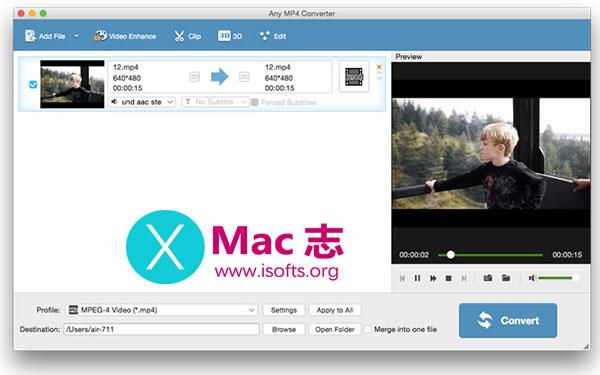 [Mac]视频格式转换工具 : Tipard MP4 Video Converter for Mac