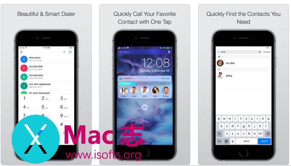 [iPhone/iPad]通知栏快速拨号工具 : Magic Dialer Pro