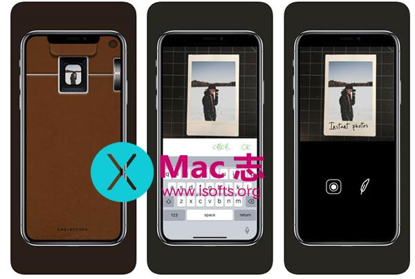 [iPhone]拍立得效果的拍照软件 : Too70