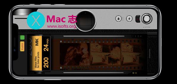 [iPhone]胶片相机效果拍照工具 : 胶片相机
