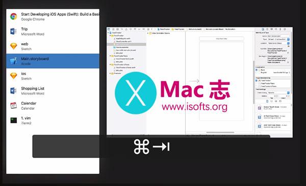 [Mac]窗口快速切换工具 :Swivik