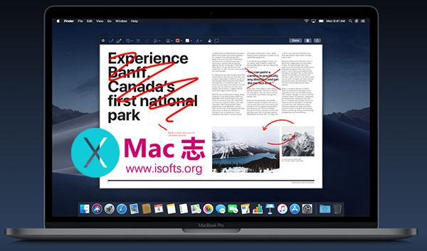 """macOS Mojave 新特性之""""快速查看"""" – 快速预览并处理文件"""