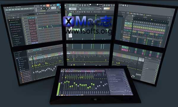 [Mac]后期音频处理软件 : FL Studio