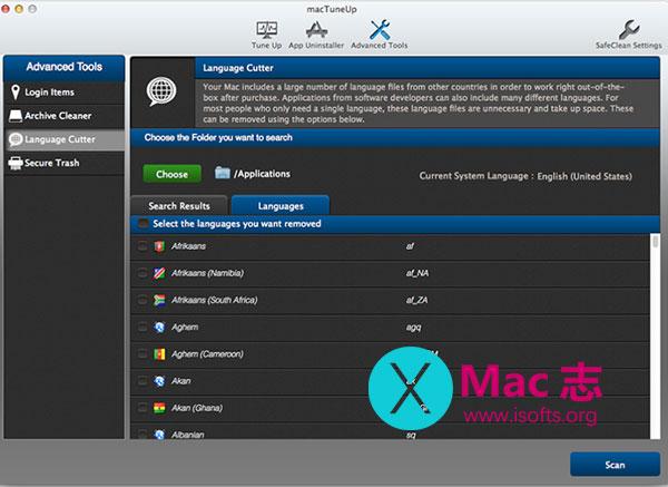 [Mac]系统清理优化工具 : MacTuneUp