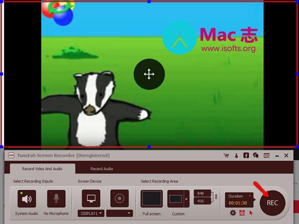 [Mac]强大的屏幕录像软件 :TuneFab Screen Recorder