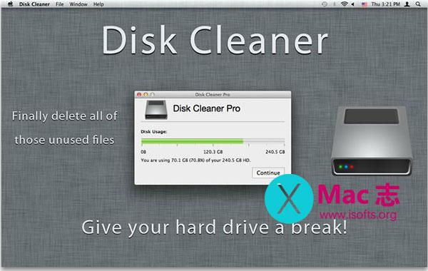 [Mac]磁盘垃圾清理工具 : Disk Cleaner Pro