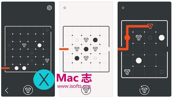 [iPhone/iPad]黑白迷宫挑战游戏 :btw – puzzle maze