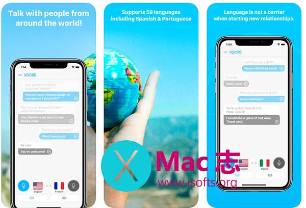 [iPhone/iPad]语言即时翻译工具 : Vocre