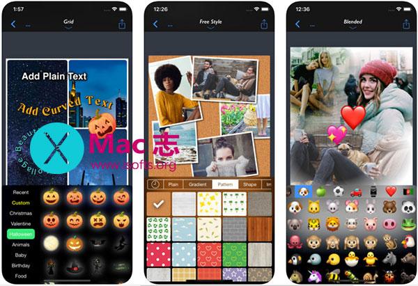 [iPhone/iPad]最佳全能照片拼贴工具 : Photo Layout