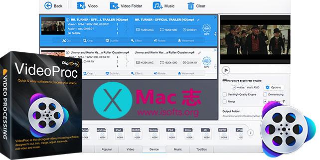 [Mac]视频格式转换工具 : VideoProc