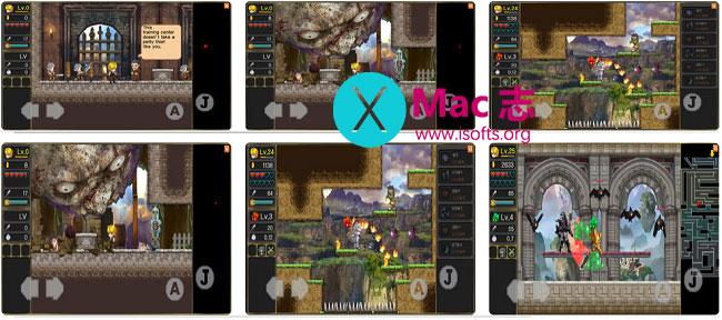 [iPhone/iPad] Legend of the Moon(月之传说) : 角色扮演类横版RPG游戏