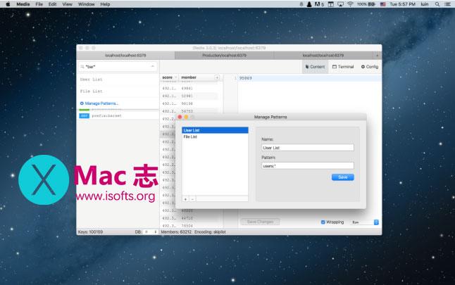 [Mac]可视化Redis管理工具 : Medis