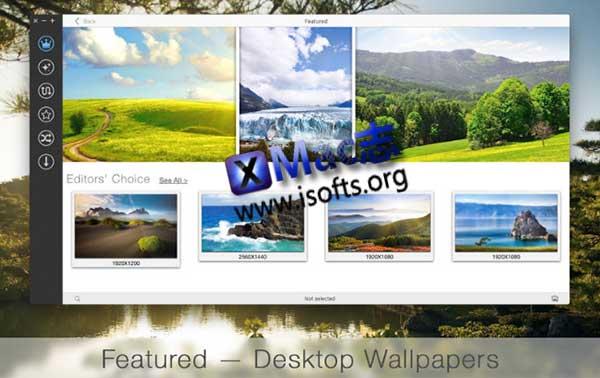 [Mac]壁纸收集下载软件 : uDesktop NEXT