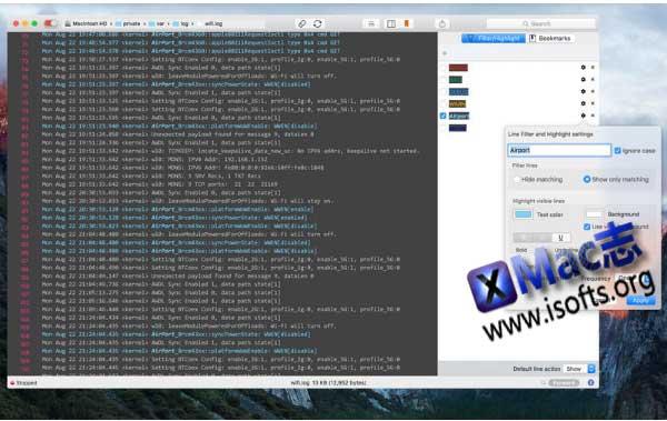 [Mac]日志监控查看工具 : LogTail