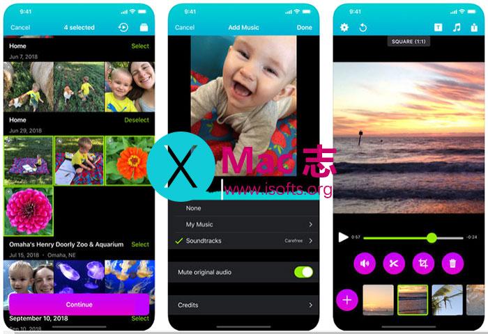 [iPhone/iPad]将Live Photos串连制作成短片 : Snapthread