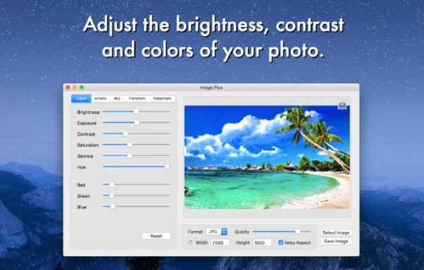 [Mac]图片编辑工具 : Image Plus
