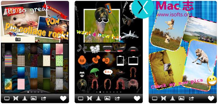 [iPhone]多彩照片编辑工具 : Pic Montage