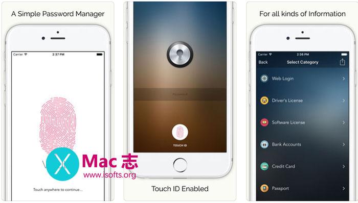 [iPhone/iPad]个人隐私信息资料管理工具 : SmartLoker Password