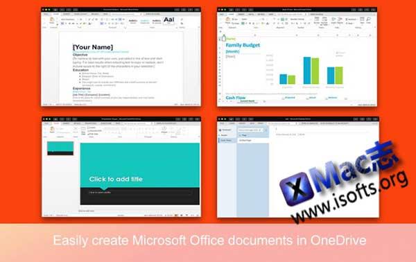 [Mac] Microsoft Office文档创建/编辑工具 : All Docs