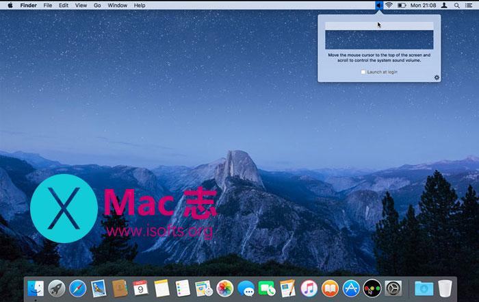 [Mac]方便快速的音量调节工具 : Scrollume