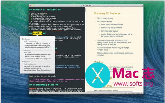 [Mac]支持历史版本回溯的MarkDown编辑器 :MDEdit