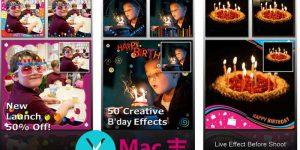 [iPhone/iPad]生日派对相机工具 :Birthday Frame Greetings