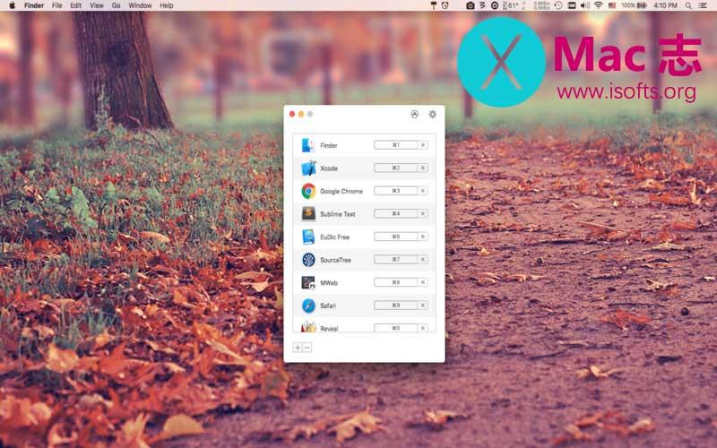 [Mac]快速打开或切换应用程序的工具 : Thor