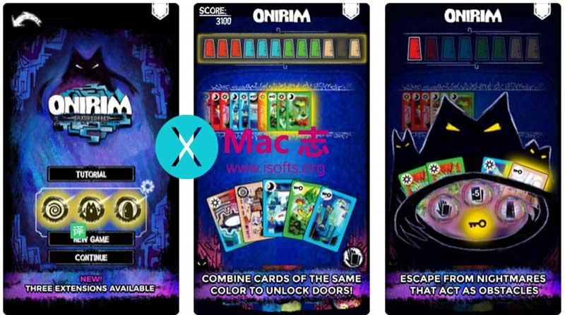[iPhone/iPad] Onirim(梦境迷宫): 纸牌游戏