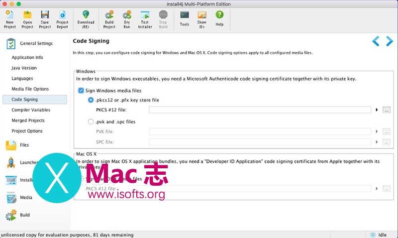 [Mac] Java安装文件生成工具 : install4j for Mac