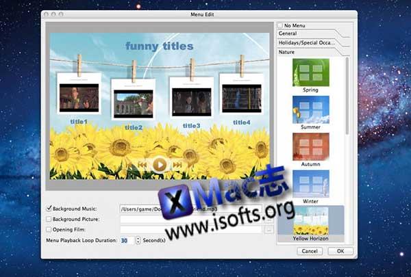 [Mac] dvd视频刻录工具 : Xilisoft DVD Creator