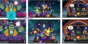 [iPhone/iPad]万圣节风格的贴纸游戏书 : StoryToys Haunted House