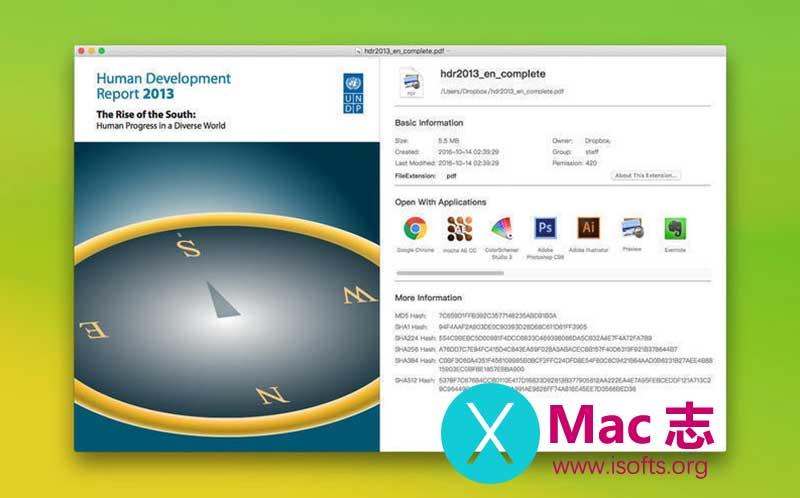 [Mac]文件解压及万能文件扩展名修复工具 : Any File Opener
