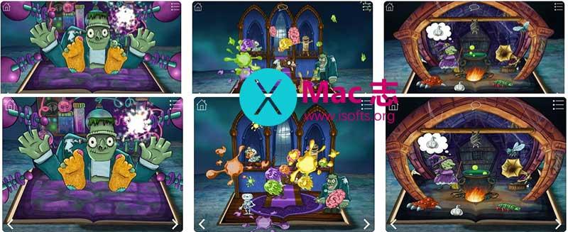[iPhone/iPad]万圣节风格的立体鬼屋故事游戏书 :StoryToys Haunted House