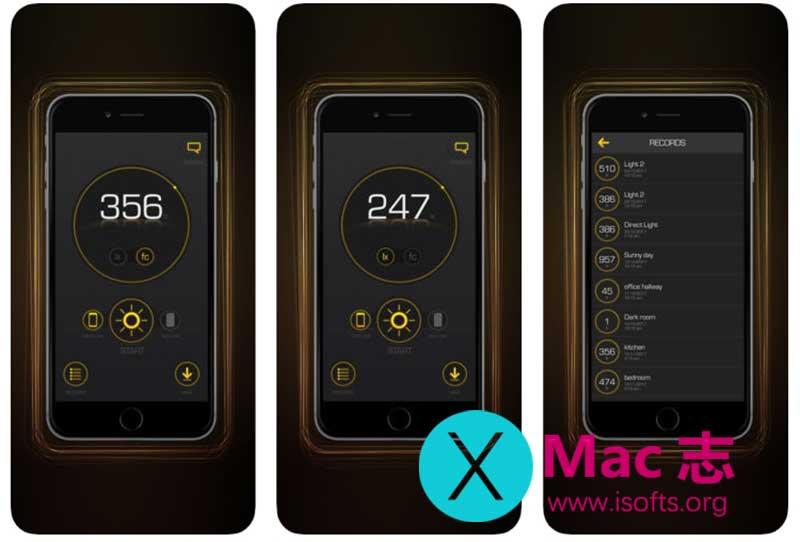 [iPhone/iPad]光线亮度监测仪 :Light Lux Meter