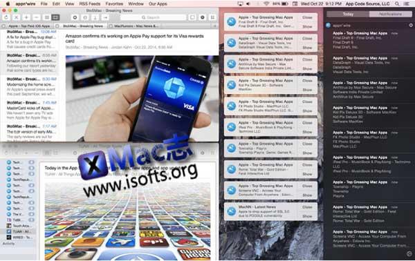 [Mac] iOS及macOS相关APP应用及技术新闻整合客户端 : appn'wire