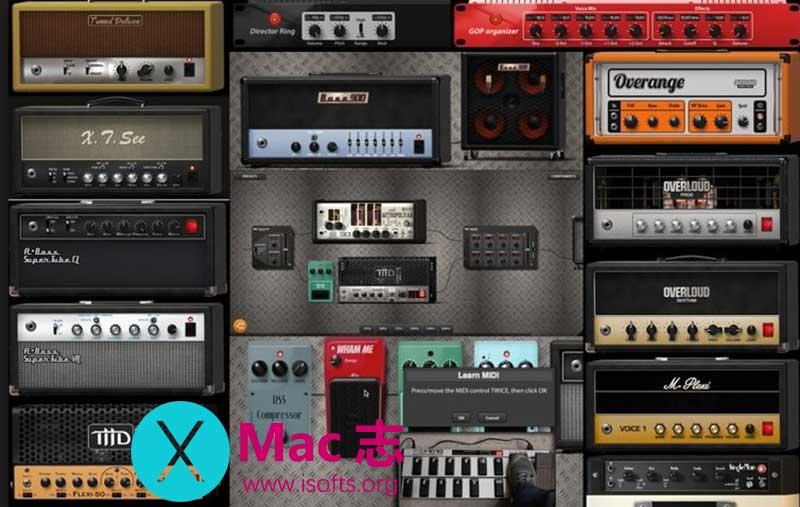 [Mac]电吉他效果器 :Overloud TH3