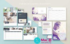 [Mac] Pages商业模板套件 :Branding Lab - Templates